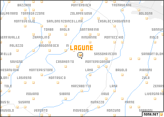 map of Lagune