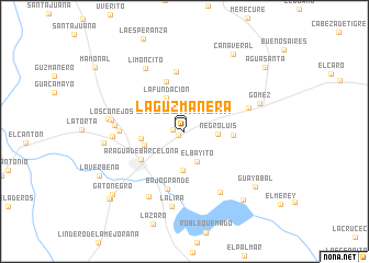 map of La Guzmanera
