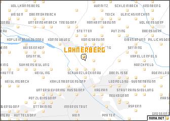 map of Lahnerberg