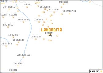 map of La Hondita