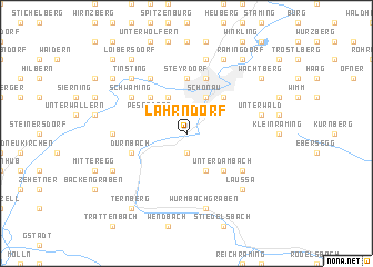 map of Lahrndorf