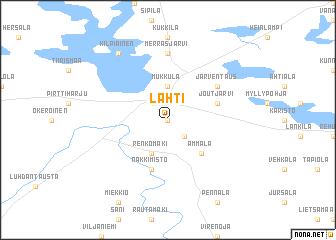 Lahti Finland map nonanet