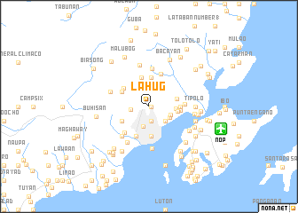 map of Lahug