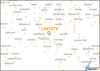 map of Lahyote