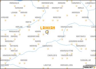 map of Lai-hkam