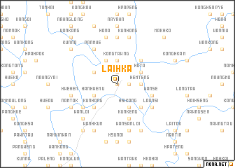 map of Lai-hka