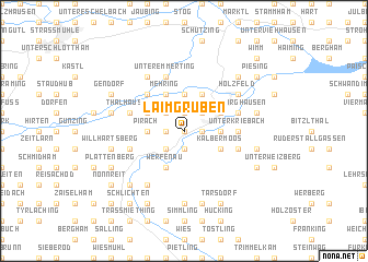 map of Laimgruben