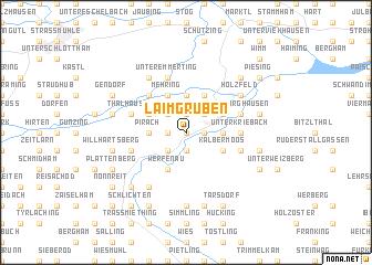 map of Laimgruben