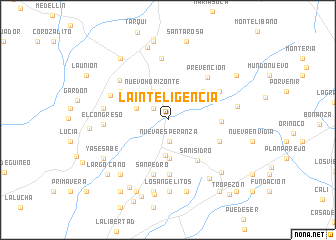 map of La Inteligencia