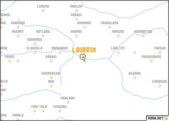 map of Lai-prim