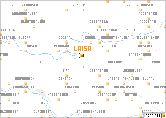 map of Laisa