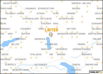 map of Laiter