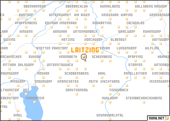 map of Laitzing