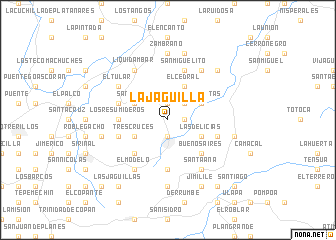 map of La Jagüilla