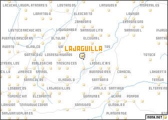 map of La Jagüilla