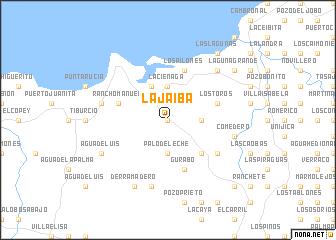 map of La Jaiba