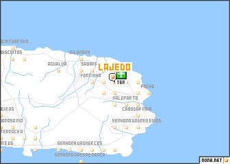 map of Lajedo