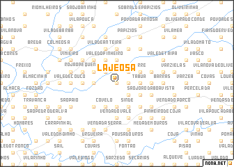 map of Lajeosa