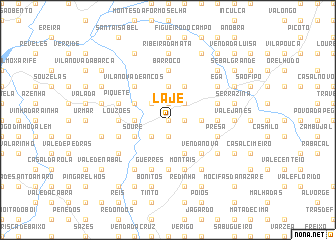 map of Laje