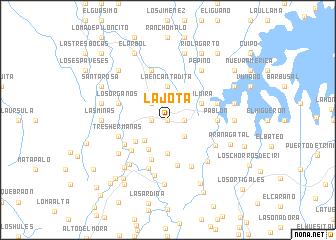 map of La Jota