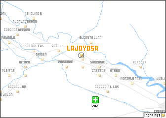 map of La Joyosa