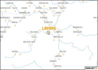 map of Lakang