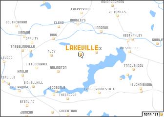 Lakeville United States USA map nonanet