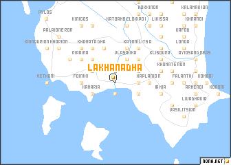 map of Lakhanádha