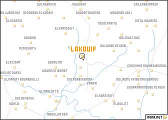 map of Lakouif