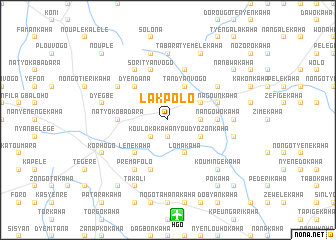 map of Lakpolo