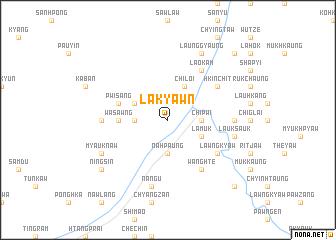 map of Lākyawn