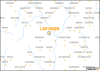 map of Lakyawpa