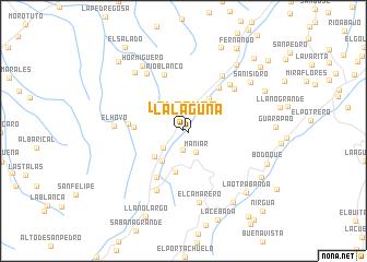 map of La Laguna