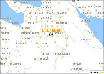 map of Lalaguna
