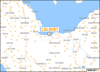 map of Lalakay