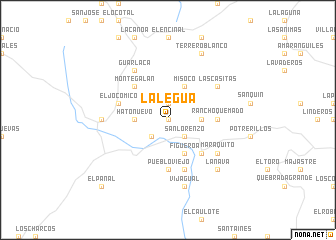map of La Legua
