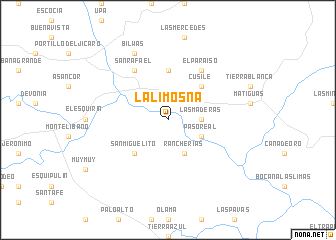 map of La Limosna