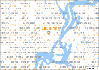 map of Lālmina