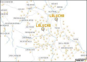 map of La Lucma
