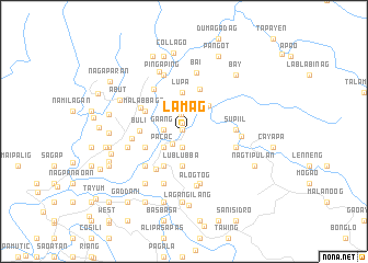 map of Lam-ag