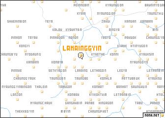 map of Lamainggyin