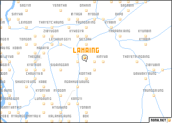 map of Lamaing