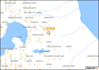 map of Lamao