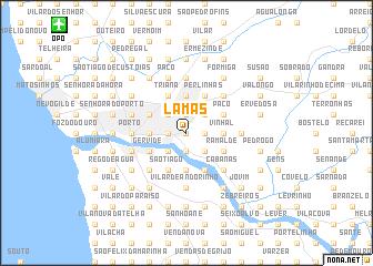 map of Lamas