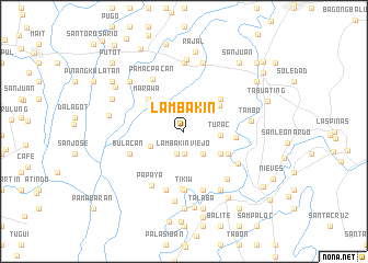 map of Lambakin