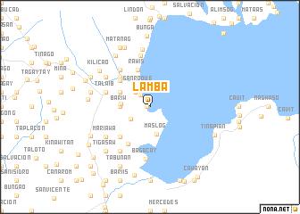 map of Lamba