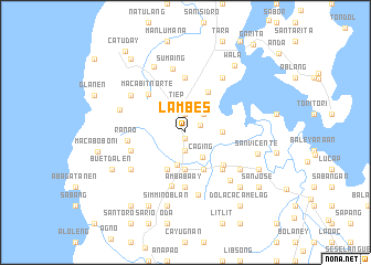 map of Lambes