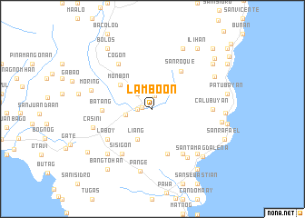 map of Lamboon