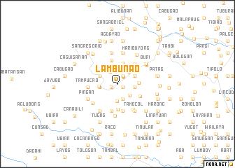 map of Lambunao