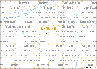 map of Lameira